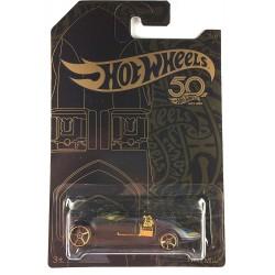 Hot Wheels 50th Anniversary Black & Gold - Twin Mill