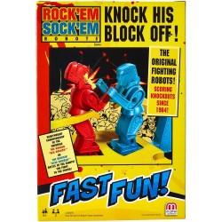 Fast Fun Rock Em Sock Em Robots