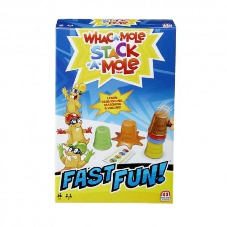 Whac-A-Mole Stack-A-Mole Game