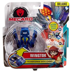Turning Mecard Wingtok Deluxe Mecardimal Figure