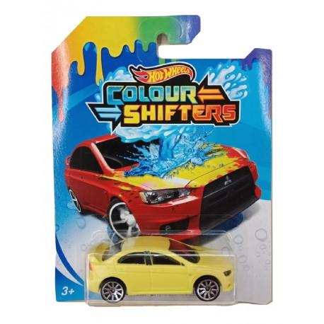 Hot Wheels Color Shifters Mitsubishi Lancer Evolution Vehicle