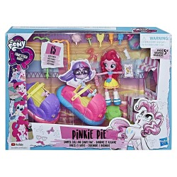My Little Pony Equestria Girls Pinkie Pie Bumper Cars and Candy Fun Set