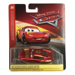 Disney Pixar Cars Rust-Eze racing Center Lightning McQueen Vehicle