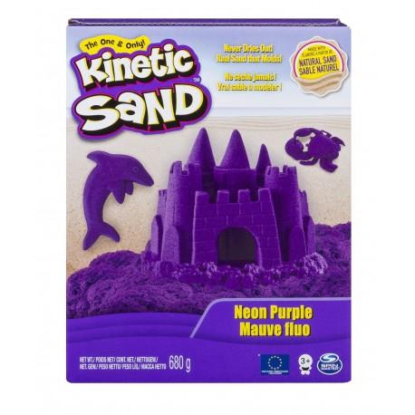 Kinetic Sand Neon Sand 1.51lb (680g) - Neon Purple