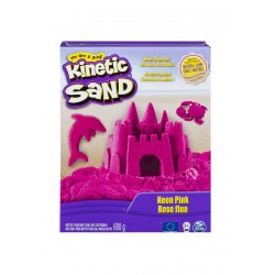 Kinetic Sand Neon Sand 1.51lb (680g) - Neon Pink
