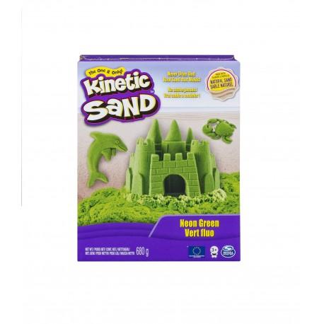 Kinetic Sand Neon Sand 1.51lb (680g) - Neon Green