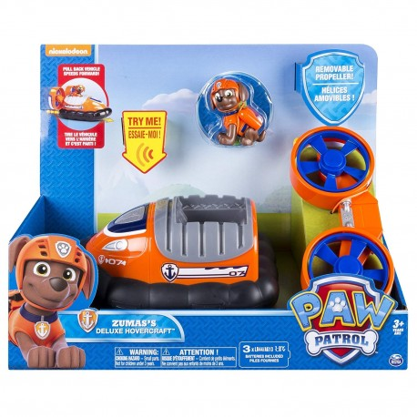 Paw Patrol Feature Vehicle - Zuma's Deluxe Hovercraft