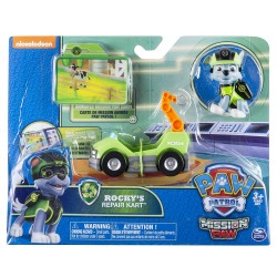 Paw Patrol Mission Mini Vehicle - Rocky's Repair Kart