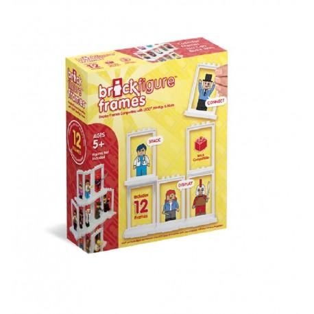 Brick Figure Frames 12-Pack For Lego Minifigures
