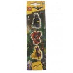 LEGO Batman Movie Eraser - Batman, Harley Quinn, Batgirl