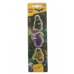 LEGO Batman Movie Eraser - Batman, Robin, The Joker