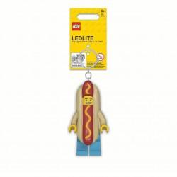 LEGO Hot Dog Guy Key Light