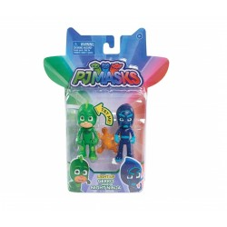 PJ Masks Light-Up Gekko and Night Ninja (2pk)