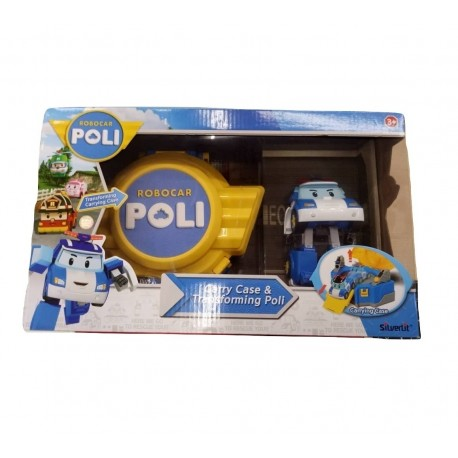 Robocar Poli Carry Case & Transforming Poli