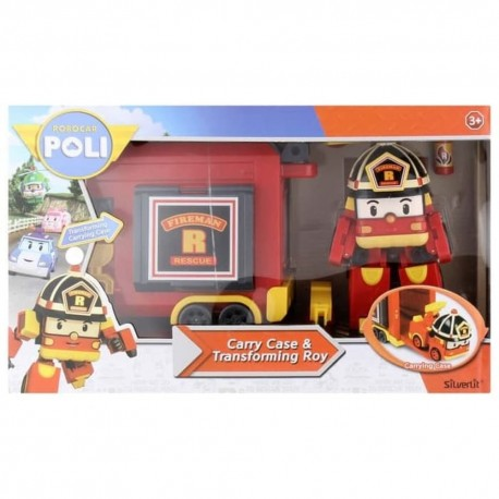 Robocar Poli Carry Case & Transforming Roy