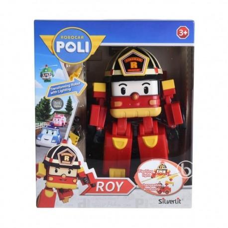 Robocar Poli Transforming Robot With Lighting - Roy
