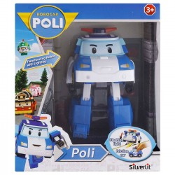 Robocar Poli Transforming Robot With Lighting - Poli