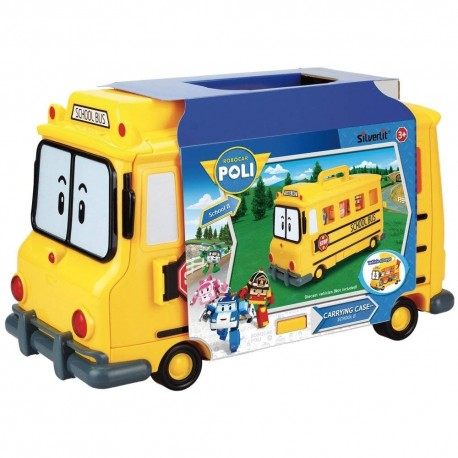 Robocar Poli Carrying Case - School B