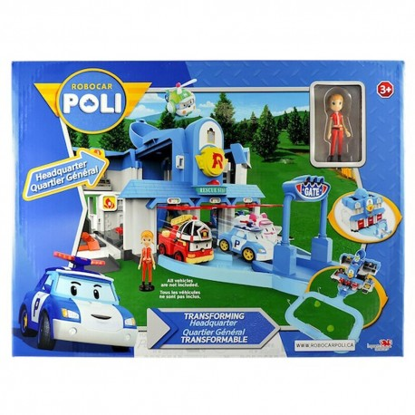 Robocar Poli Transforming Headquarter