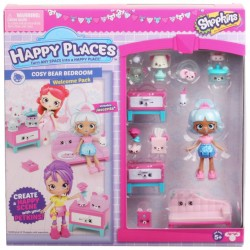 Shopkins Happy Places S3 Welcome Pack - Cozy Bear Bedroom