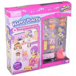 Shopkins Happy Places S3 Welcome Pack - Pampered Puppy Theater