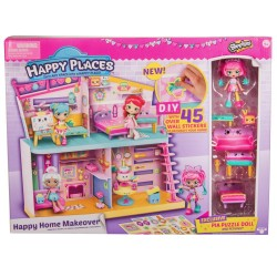 Shopkins Happy Places Happy Home Makeover Playset