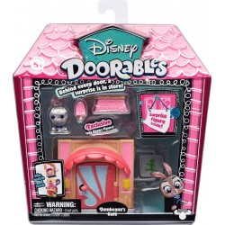 Disney Doorables S1 Mini Display Set - Jumbeaux's Cafe