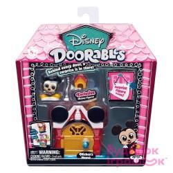 Disney Doorables S1 Mini Display Set - Mickey's House
