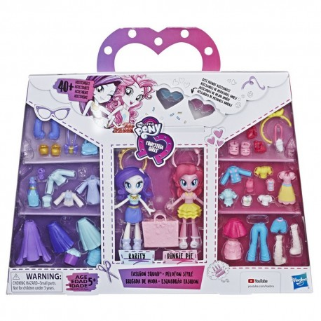 My Little Pony Equestria Girls Fashion Squad - Rarity and Pinkie Pie
