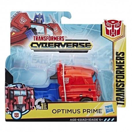 Transformers Cyberverse 1-Step Changer Optimus Prime