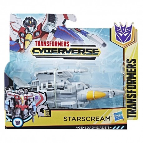 Transformers Cyberverse 1-Step Changer Starcream