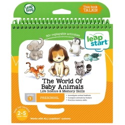 LeapFrog LeapStart The World of Baby Animals (2-5 yrs)