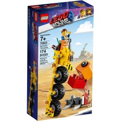 LEGO The LEGO Movie 2 70823 Emmet's Thricycle!