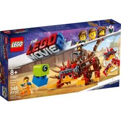 LEGO The LEGO Movie 2 70827 Ultrakatty & Warrior Lucy!