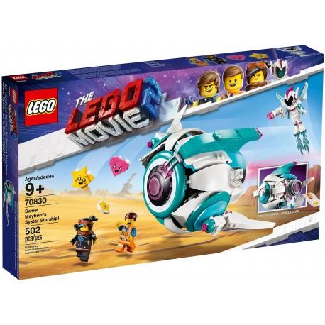 LEGO The LEGO Movie 2 70830 Sweet Mayhem's Systar Starship!