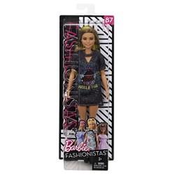 Barbie Fashionistas Doll 87 - Original with Brunette Hair