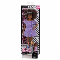 Barbie Fashionistas Doll 93 - Original with Brunette Afro