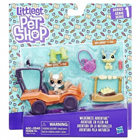 Littlest Pet Shop Wilderness Adventure