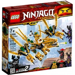 LEGO Ninjago 70666 The Golden Dragon