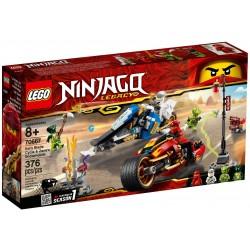LEGO Ninjago 70667 Kai's Blade Cycle & Zane's Snowmobile