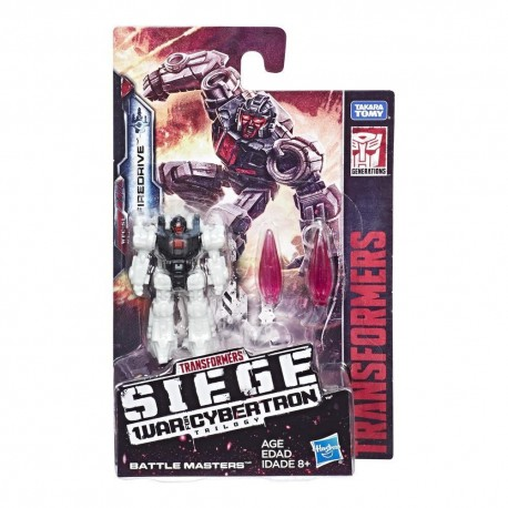 Transformers Generations War For Cybertron: Siege Battle Masters WFC-S1 Firedrive Action Figure Toy