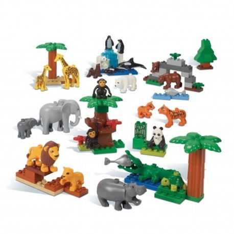 LEGO Education 9218 Wild Animals Set
