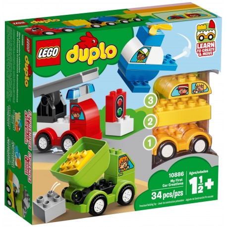 LEGO Duplo 10886 My First Car Creations
