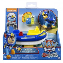 Paw Patrol Chase Sea Patrol Vehicle