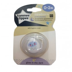 Tommee Tippee Newborn Soother Glow in The Dark - Cloud ( 0- 2 months)