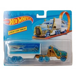 Hot Wheels Track Stars Speed Hauler - Blue