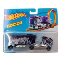 Hot Wheels Track Stars Aero Blast - Dark Blue