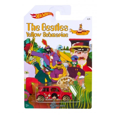 Hot Wheels The Beatles Yellow Submarine - Morris Mini
