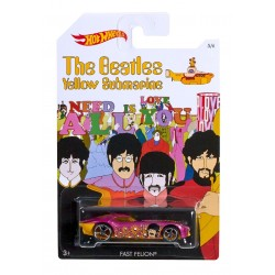 Hot Wheels The Beatles Yellow Submarine - Fast Felion