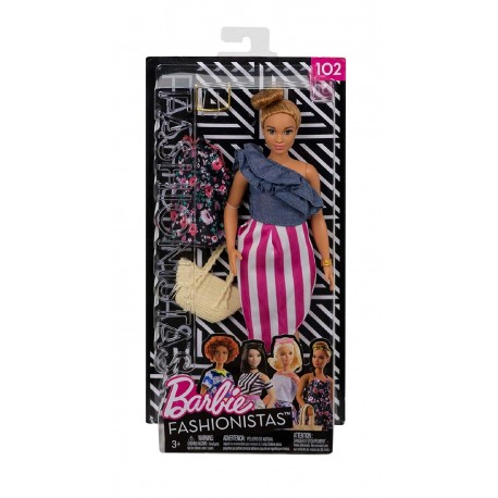Barbie Fashionistas 102 Doll & Fashions - Curvy